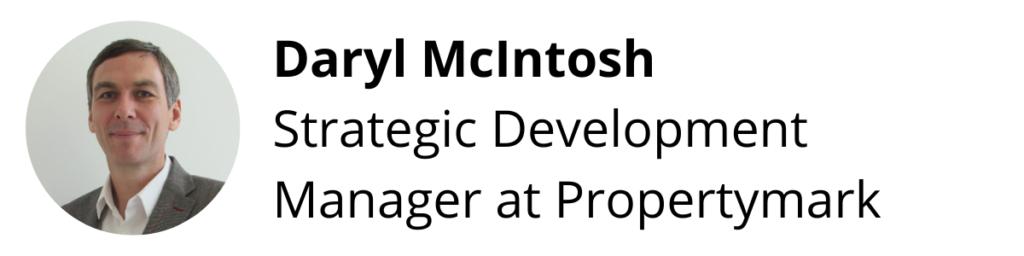 Daryl McIntosh, Strategic Development Manager at Propertymark