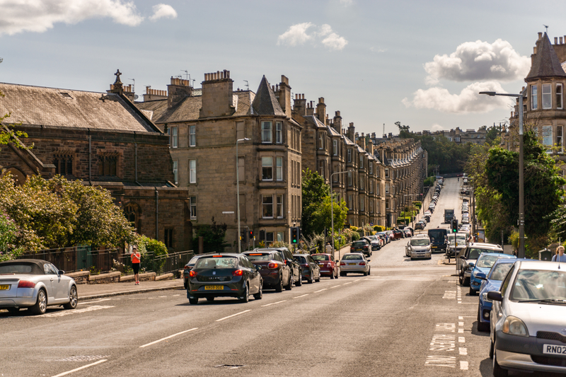 An Edinburgh street