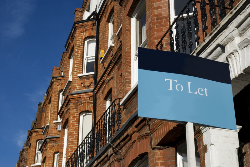 A property with a to let sign